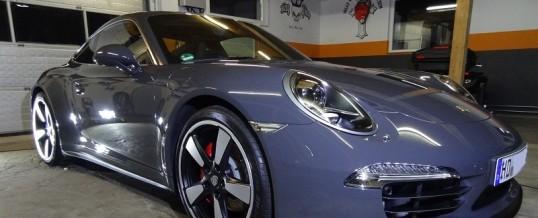 Aufbereitung eines Porsche 911 50 Jahre Jubiläums Edition
