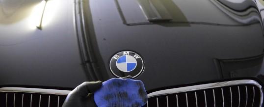 Aufbereitung eines BMW Cabriolet.